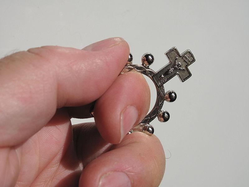 Rosary Ring Gold-묵주반지사진