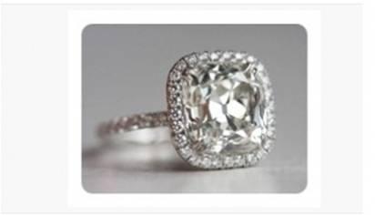 다이아몬드 반지세팅